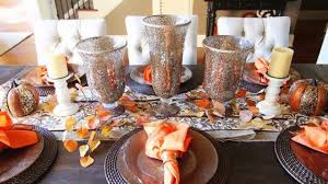 Fall Table Decor 2017 Fall Table Decorations Youtube