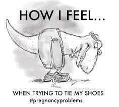 Maternity Memes - tying your shoes when you re pregnant feels something like this