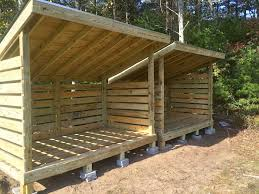 Free Firewood Storage Shed Plans by 108 Best Firewood Shed Shelter Rack Images On Pinterest Outdoor