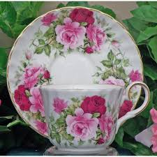 porcelaine bone china rose fine bone china cup and saucer set of 4