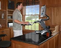 Standing Desk Frame Office Convert Desk To Standing Adjustable Height Table Top Desk