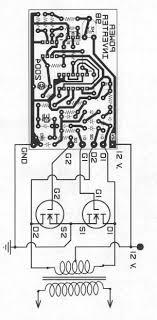 layout pcb inverter mos fet power inverter from 12v to 110v 220v