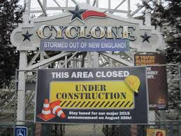 Six Flags Agawam Mass Cyclone Construction Update 2 Six Flags New England