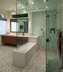 ada bathroom layout for a contemporary bathroom with a high and