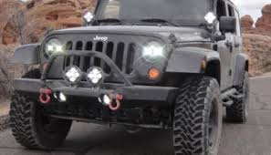 Led Lights For Jeeps Jeep Led Fog Light Upgrades Review Of The Four Best Options