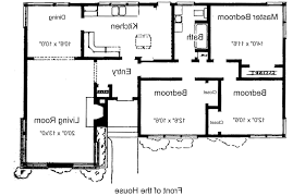 Three Bedroom House Plans Home Design 3 Bedroom Bathroom Cabin Floor Plans Slyfelinos