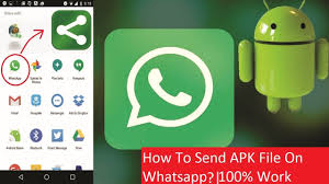 watsapp apk file how to send apk file on whatsapp 100 work in 2 simple steps