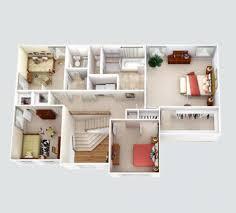 Rendered Floor Plans by Color Floor Planjpgwatercolor Home Plans Rendered Laferida Com