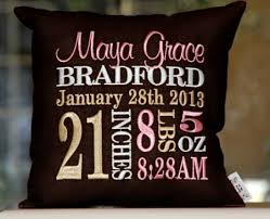 personalized pillows for baby omg look how this is would to a personalized
