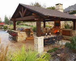 outdoor kitchen design surprising outdoor kitchen designs with roof best 25 kitchens