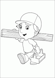 brilliant handy manny tools coloring pages like different article