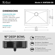 What Is The Standard Height Of Kitchen Cabinets by Stainless Steel Kitchen Sinks Kraususa Com