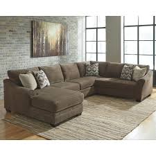 Left Sectional Sofa Benchcraft Justyna Contemporary 3 Piece Sectional With Left Chaise