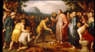 Christ Healing The Blind Northern Mannerism M U0026g
