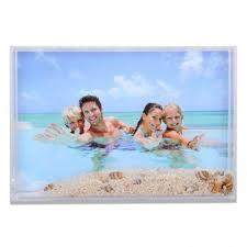 cornice fotografica cornice fotografica per foto 10x15 portafoto con sabbia e conchiglie