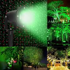christmas laser outdoor christmas laser projector sky stage spotlight showers