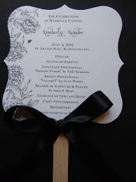 Wedding Program Paddle Fan Template Fan Wedding Program Template Free Wedding Invitation Sample