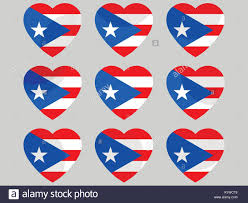 Cuban Flag Vs Puerto Rican Flag Puerto Rico Stock Vector Images Alamy