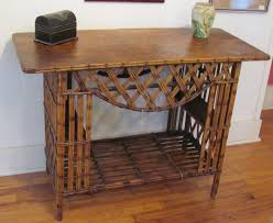 Rattan Console Table Rattan Console Table Accessories Aesthetic Style For Rattan