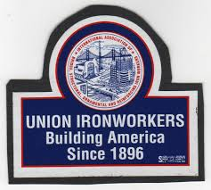union ironworkers emblem o brien s edge