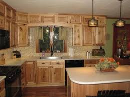 brown kitchen cabinets lowes denver hickory lowes doesn t look with floors
