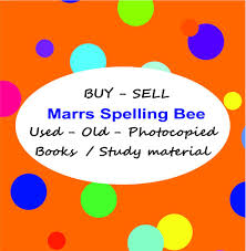 marrs spelling bee study material books practice sample test