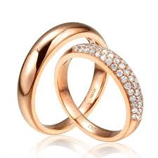 engagement rings for couples free shipping 100 18k solid gold rings engagement or