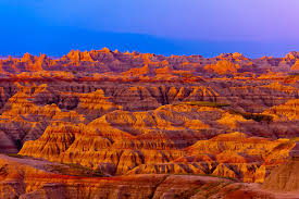 South Dakota national parks images Sunrise big badlands overlook badlands national park south jpg