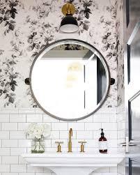 best 25 mirrored wallpaper ideas on pinterest powder room