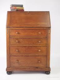 vintage bureau small vintage oak bureau antiques atlas