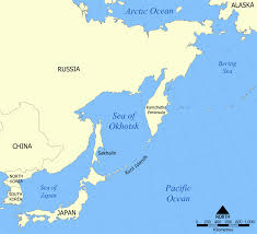 Map Of Ocean Currents Sea Of Okhotsk Wikipedia