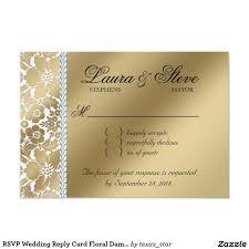 Wedding Reply Cards 25 Melhores Ideias De Gold Reply Cards No Pinterest Convites De
