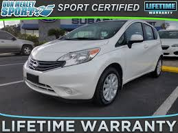 nissan versa warranty 2016 used 2014 nissan versa note for sale orlando fl