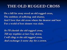 Cross On - i will cling to the rugged cross home design ideas and pictures