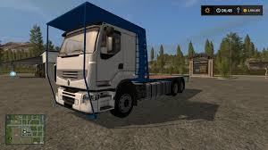 renault truck wallpaper renault bale truck v1 fs17 farming simulator 17 mod fs 2017 mod
