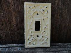 Shabby Chic Switch Plate by Switch Plate Single Switch Plate Creamy Light Switch Plate Cover