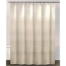 Cotton Shower Curtains Dkny Twine Linen Beige Cotton Fabric Shower Curtain