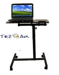 laptop table portable computer desk flexible adjustable bed tray