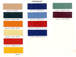 advance design paint color information