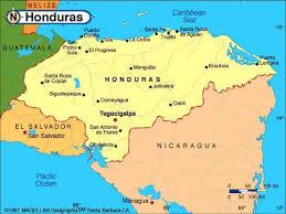america map honduras maps of honduras vacation travel information central america