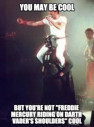mercury fan cincinnati ohio you re not freddie mercury riding on the shoulders of darth vader
