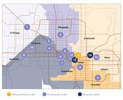 Phoenix College Map by Maricopa Health Centers Governing Council Mihs