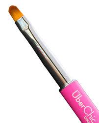 oval nail art clean up brush pink lantern u0026 wren