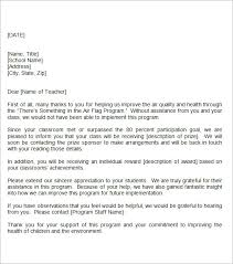 thank you letter for template business