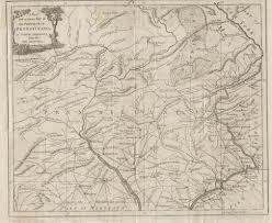 Map Of Bucks County Pa 1780 To 1784 Pennsylvania Maps