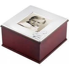 Silver Keepsake Box Wooden U0026 Sterling Silver Teddy Bear Keepsake Box Engraving Available