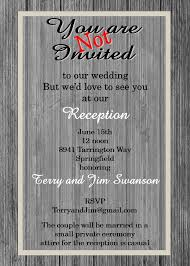 reception invitations elopement party invitations reception only invitations