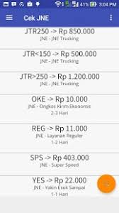 Cek Resi Cek Resi Jne App Report On Mobile