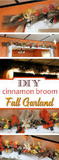 thanksgiving string lights diy cinnamon broom fall garland with cafe lights mom foodie