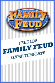 Family Feud Name Tag Template Family Feud Time For A Family Pull An Awesome